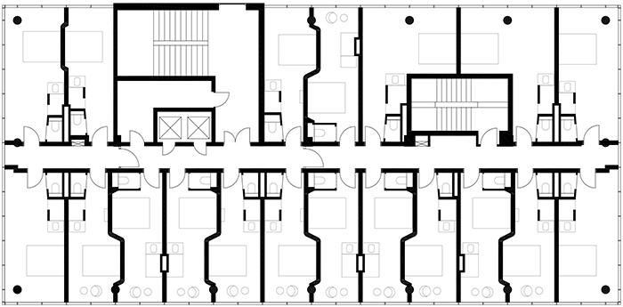 Дизайн отеля Даниэль. Дизайн интерьера номеров отеля