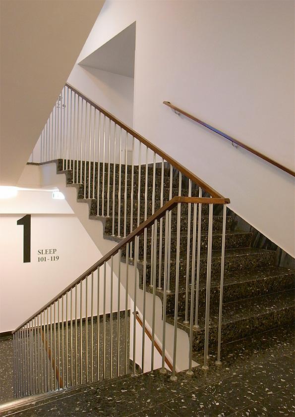 Дизайн отеля Даниэль. Дизайн лестницы