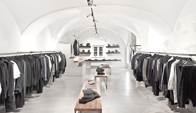дизайн интерьера бутика вена