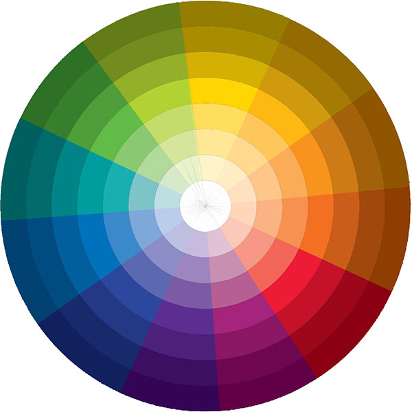 Цветовой круг Дизайн Интерьера Швейцария