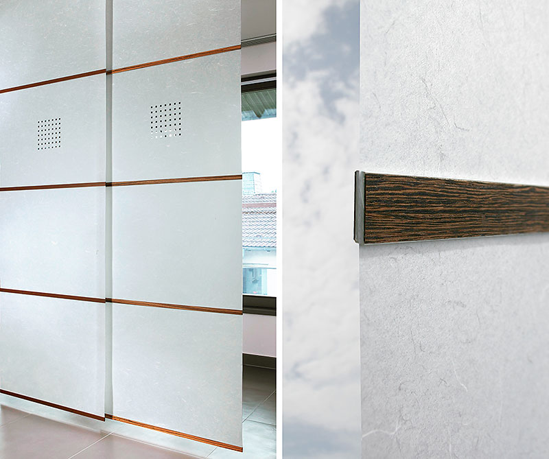 фото 5. Система подвижных панелей Sliding Doors